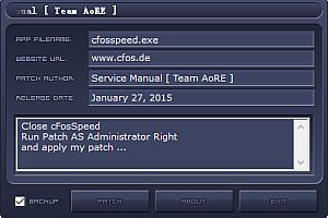 cfosspeed v10.x-11.x (x32-x64)注册机