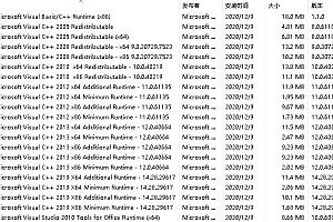 Visual C++ 运行库合集完整版21年2月版v45