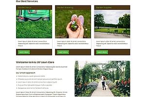草坪护理公司HTML模板1222