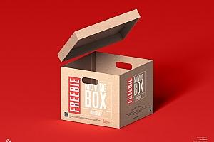 牛皮纸箱包装样机设计112