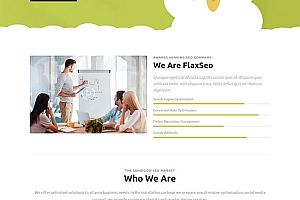 网站优化公司HTML5模板217
