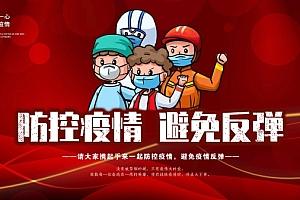 防控疫情倡议海报设计219