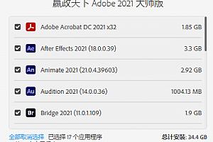 Adobe 2021 大师版21年5月更新版 v11.4#3