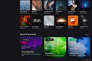 娱乐音乐资讯发布平台网站模板529