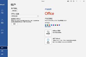 微软Office专业增强版 2021 RTM 官方正式版