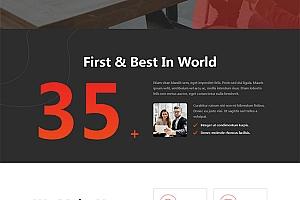 web软件应用开发公司网站模板912