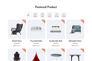 欧式家具电子商务网站模板108