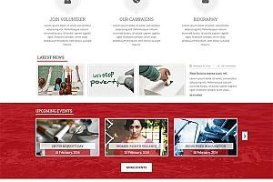 HTML5响应设计企业网站模板1013